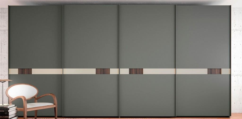 Armario con puertas correderas finest armario con puertas for Muebles barbed
