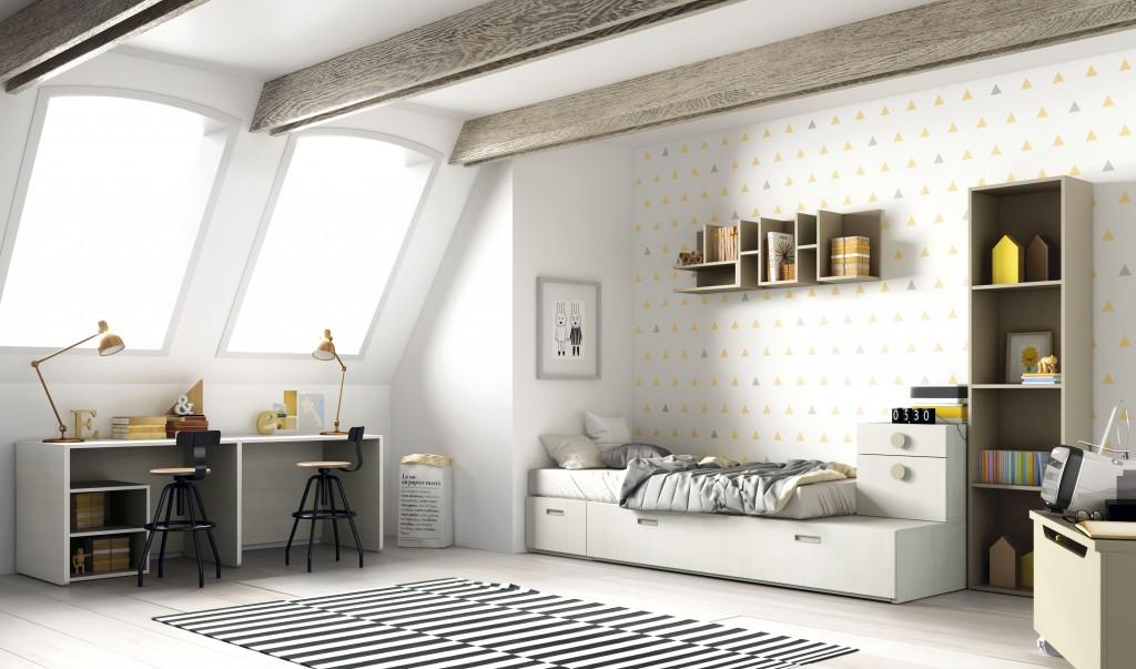 Dormitorios infantiles en Zaragoza Barbed Seleccin