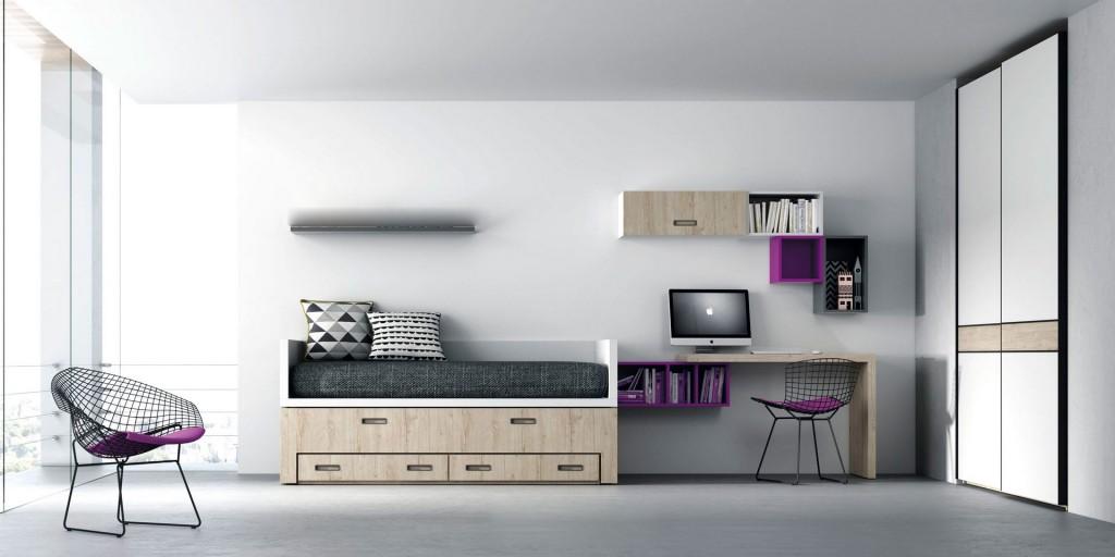 Muebles habitacion juvenil affordable muebles habitacion for Muebles habitacion juvenil