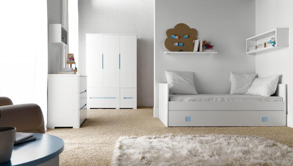 Muebles habitacion ni o dormitorios decoracin de - Muebles barbed zaragoza ...