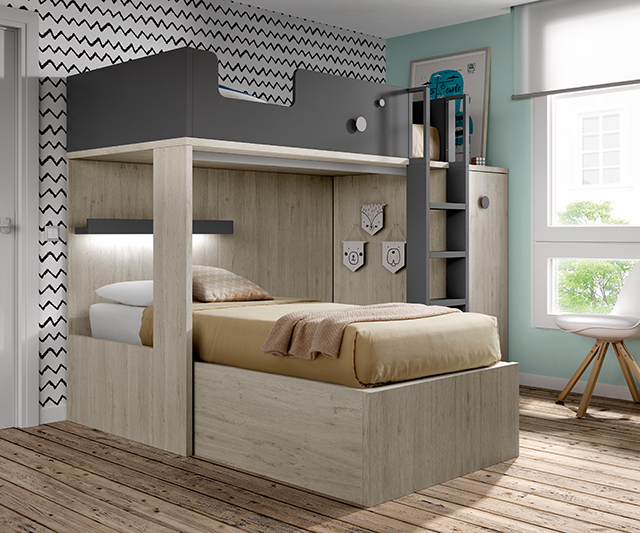 Dormitorios juveniles en zaragoza barbed selecci n - Muebles barbed zaragoza ...