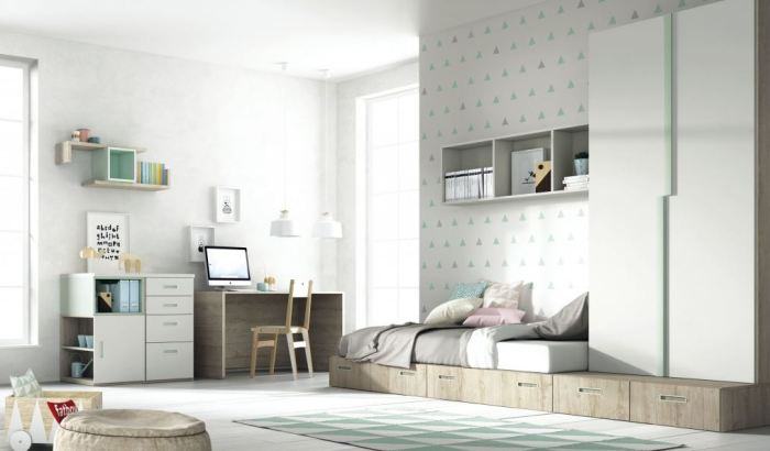 mobiliario dormitorio infantil