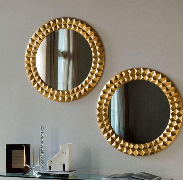 espejos redondos salon
