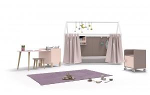 casita - muebles metodo Montessori