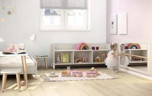 espejo con barra . Muebles metodo Montessori en Zaragoza